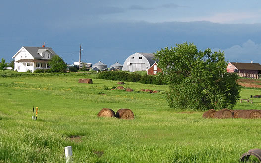 Farm in South Dakota